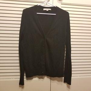 Black LOFT cardigan - well loved ***FINAL PRICE***